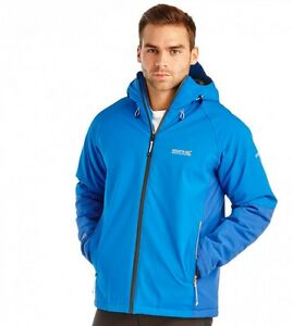 REGATTA-MENS-GRISEDALE-WATERPROOF-JACKET-ISOTEX-15000-BLUE-RMP161