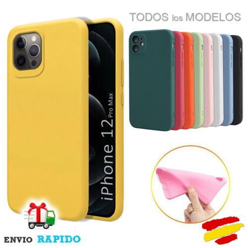 Funda TPU Silicona suave colores iPhone 6 7 8 X XR XS Max 11 12 12 Pro max 12 MI   eBay