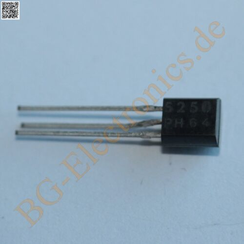 45 V PHILIPS to-92 1pcs 1 x bs250 P-Channel MOSFET 830 MW 180 ma