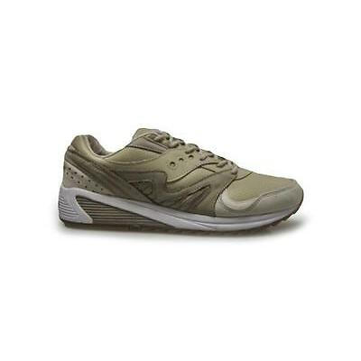 Mens Saucony  Sand Grid 8000 - S703181 - Sand Beige Trainers