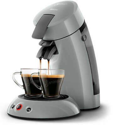 PHILIPS Original Senseo HD6553/70 Kaffeepadmaschine grau 1450 Watt