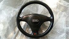 Audi B5 S4 OEM Steering Wheel Satin Black with Airbag