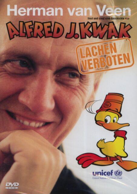 Herman van Veen - Alfred J.Kwak / Lachen Verboten  DVD  NEU&OVP!