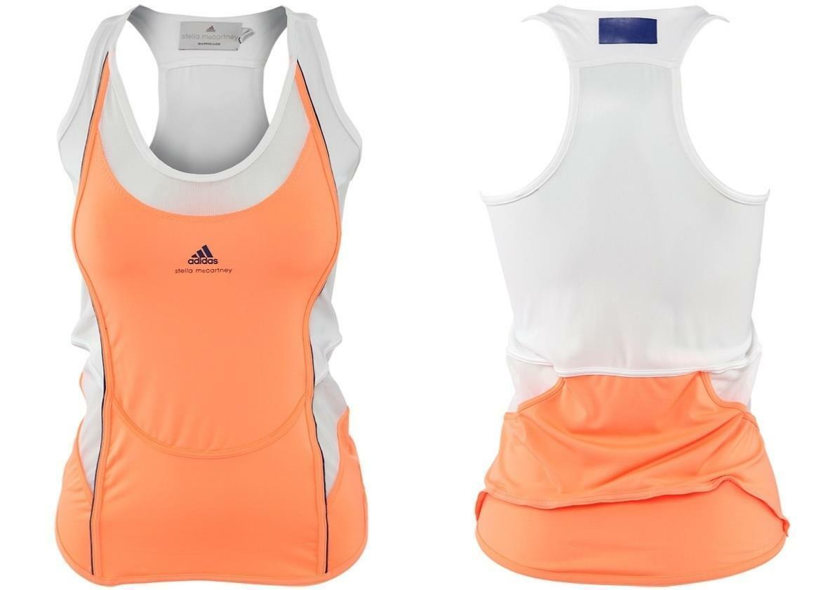 Adidas Stella McCartney Womens XS Tennis Tank Ultrabright G78466 FAST SHIP  EG4