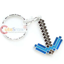 Minecraft Diamond Pickaxe Keychain Metal Key Holder - Jinx Licensed
