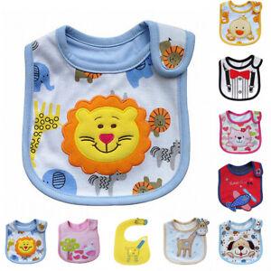 Neonato-Bimbo-Bambino-Bavaglini-Impermeabile-Saliva-Asciugamano-Rigurgito-Panno