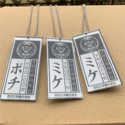 Kakegurui-Compulsive Gambler Yumeko Saotome Cosplay Necklace Pendant Chain Badge