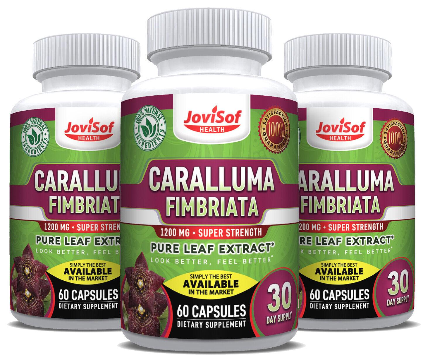 Strongest Caralluma Fimbriata 1200 Mg. Lose Weight Fast! Appetite Suppressant