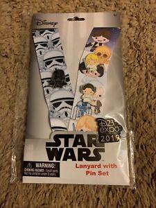 Disney-D23-EXPO-2019-Exclusive-STAR-WARS-Lanyard-PIN-SET-Kawaii-Limit-720