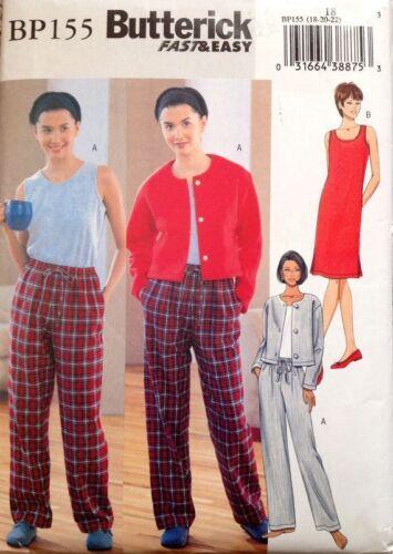 Butterick Pajama Patterns PJs Robes Sleep {Choose} Toddler Boys Girls Men Women