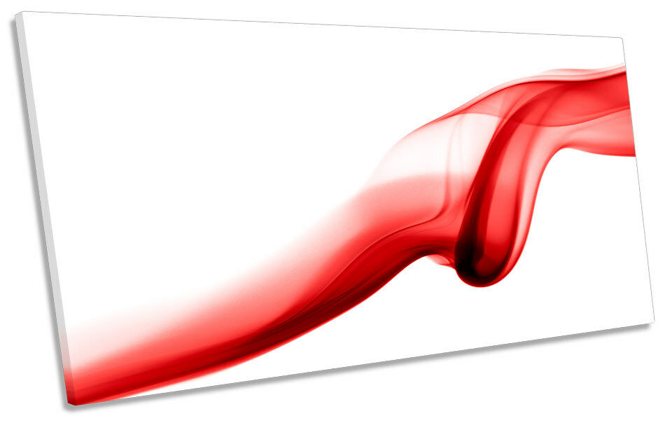 Très, la surprise vous attend Abstract Rouge  smoke box panoramique toile wall art box smoke frame 96c10e