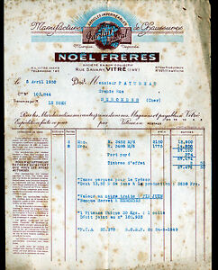 VITRE-35-USINE-de-CHAUSSURES-amp-ARTICLES-IMPERMEABLES-034-NOEL-Freres-034-en-1950