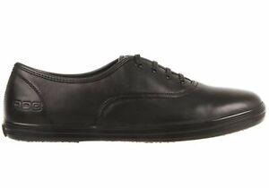 Roc Boots /'Juliette /' Black Leather V-Strap School Shoes Free Aus Delivery