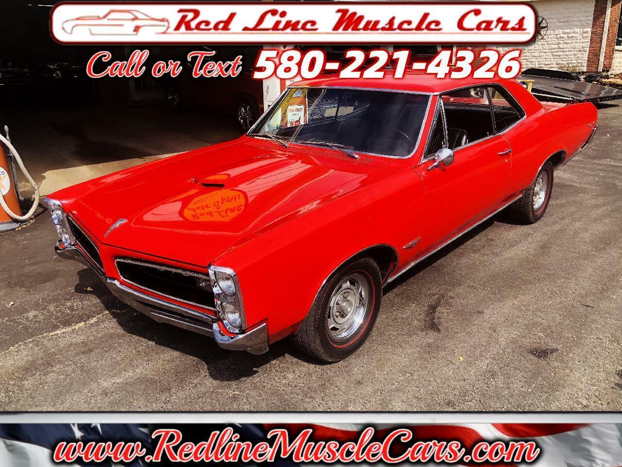 1966 Pontiac GTO 389/360hp 3x2 Tripower 2dr coupe