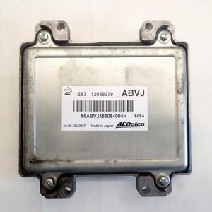 Vauxhall Astra J Engine Ecu 12659379 1.4  Ref.1217