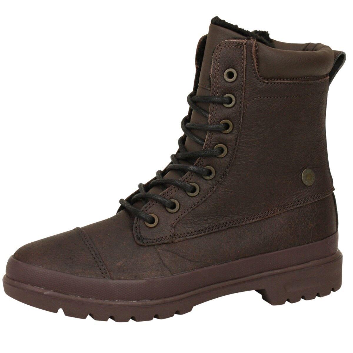 DC Schuhes Damen Stiefel Amnesti Winter Schuhe mit mit Schuhe Fell braun Frauen Stiefel Damens e06d3a