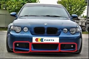 Details About Bmw New Genuine 3 E46 Compact 00 06 Front M Sport Bumper Lower Grille Set