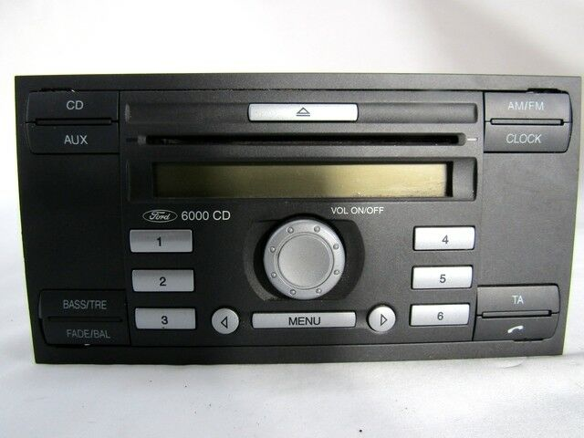 6S61-18C815-AJ AUTORADIO FORD FIESTA 1.2 55KW 3P B 5M (2008