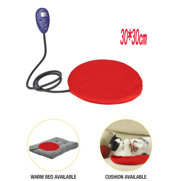 Elektrische Heizmatte Heizkissen Heizdecke Haustier Wärmekissen Hund Katze 30*30