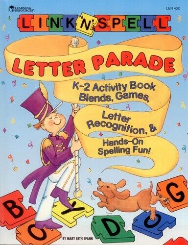 Link N Spell Letter Parade And Activity Book With 50 Magnetic Letters And Board For Sale Online Ebay