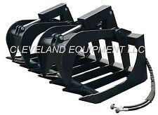 New 66 Root Grapple Attachment Skid Steer Loader Rake Bucket Asv Posi Track Jcb
