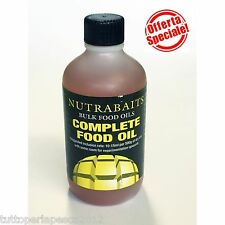A0434 NUTRABAITS COMPLETE FOOD OIL SELF MADE ADDITIVE BOILIES CARPFISHING RIG