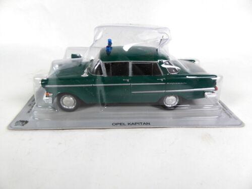 Ist Voiture miniature Diecast Model PM02 Opel Kapitan Police Allemande 1//43