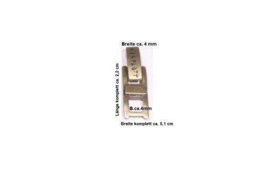 Edelstahl Armband Ketten Verlängerung Verlängerungselement Schmuck Verschlüsse