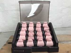 Image Is Loading Remington H9000 Ceramic Hot Rollers Hair Curlers Heated