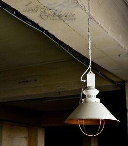 industrie h ngeleuchte h ngelampe loft e27 lampe wei. Black Bedroom Furniture Sets. Home Design Ideas