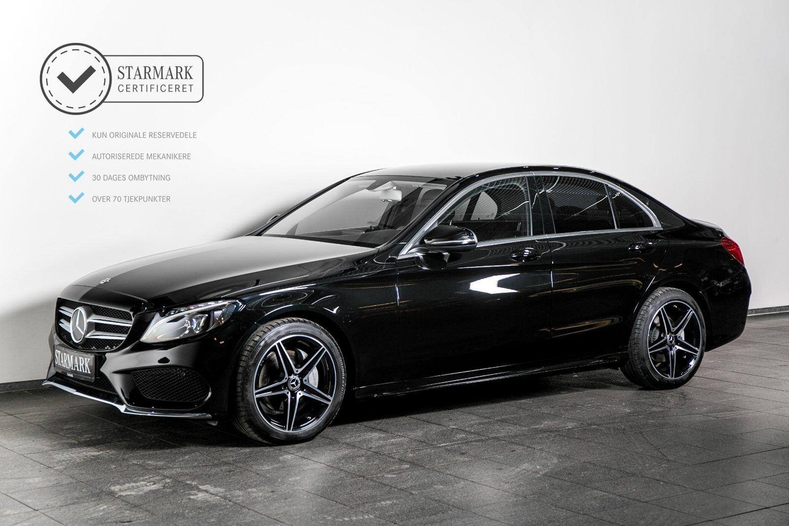 Mercedes C200 2,0 AMG Line aut. 4d - 429.900 kr.
