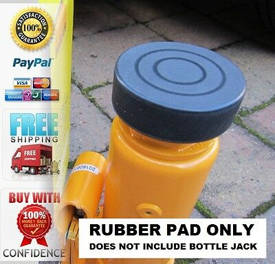 For Halfords 4 tonne Bottle Jack Rubber Pad Heavy Duty Protection Pad 26mm dia