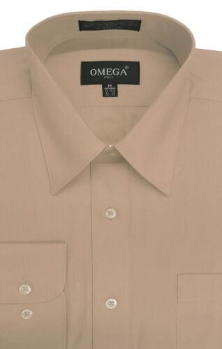 NEW MENS Solid LONG Sleeve Dress Shirt 26 Colors 14colors Part 2