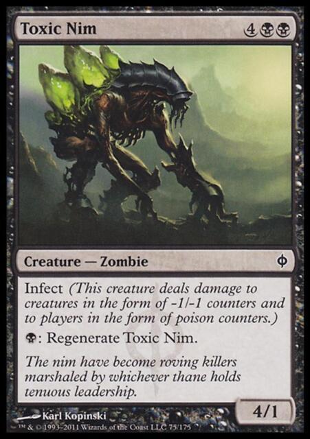 Toxic Nim MTG Magic - SP New Phyrexia C