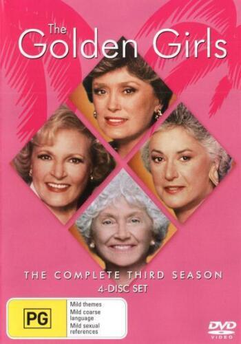 1 of 1 - The Golden Girls: Season 3  - DVD - NEW Region 4