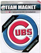 "Chicago Cubs 7 3/4"" Baseball Team Logo Car Magnet"