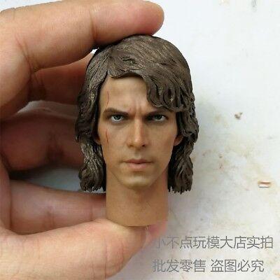 1//6 Luke Skywalker Custom Head Sculpt For Hot Toys Figure SHIP FROM USA