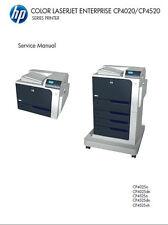 HP  COLOR LASERJET CP4025 CP4525 Printer Series SERVICE MANUAL PDF CC489-90936