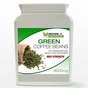 60-PURE-GREEN-COFFEE-BEAN-EXTRACT-DIET-BOTTLE-BETTER-BODIES-UK-HIGHEST-STRENGTH