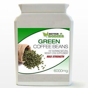 90-PURE-GREEN-COFFEE-BEAN-MAX-6000MG-BOTTLE-DIET-WEIGHTLOSS-BETTER-BODIES-PILLS