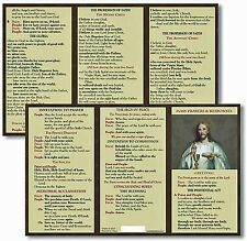 Catholic Mass Prayer And Responses Pocket Card TC001