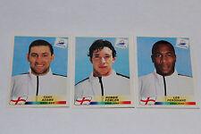 Panini WC WM France 98 1998 – RARE ENGLISH PLAYERS SELTENE ENGLÄNDER 467 477 478