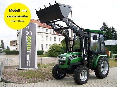 neu 25 ps foton te254 allrad traktor schlepper mit kabine frontlader inklusive ebay. Black Bedroom Furniture Sets. Home Design Ideas