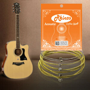acoustic guitar string 1st e 2nd b 3rd g 4th d 5th a 6th e 80 20 bronze 11 53 ebay. Black Bedroom Furniture Sets. Home Design Ideas