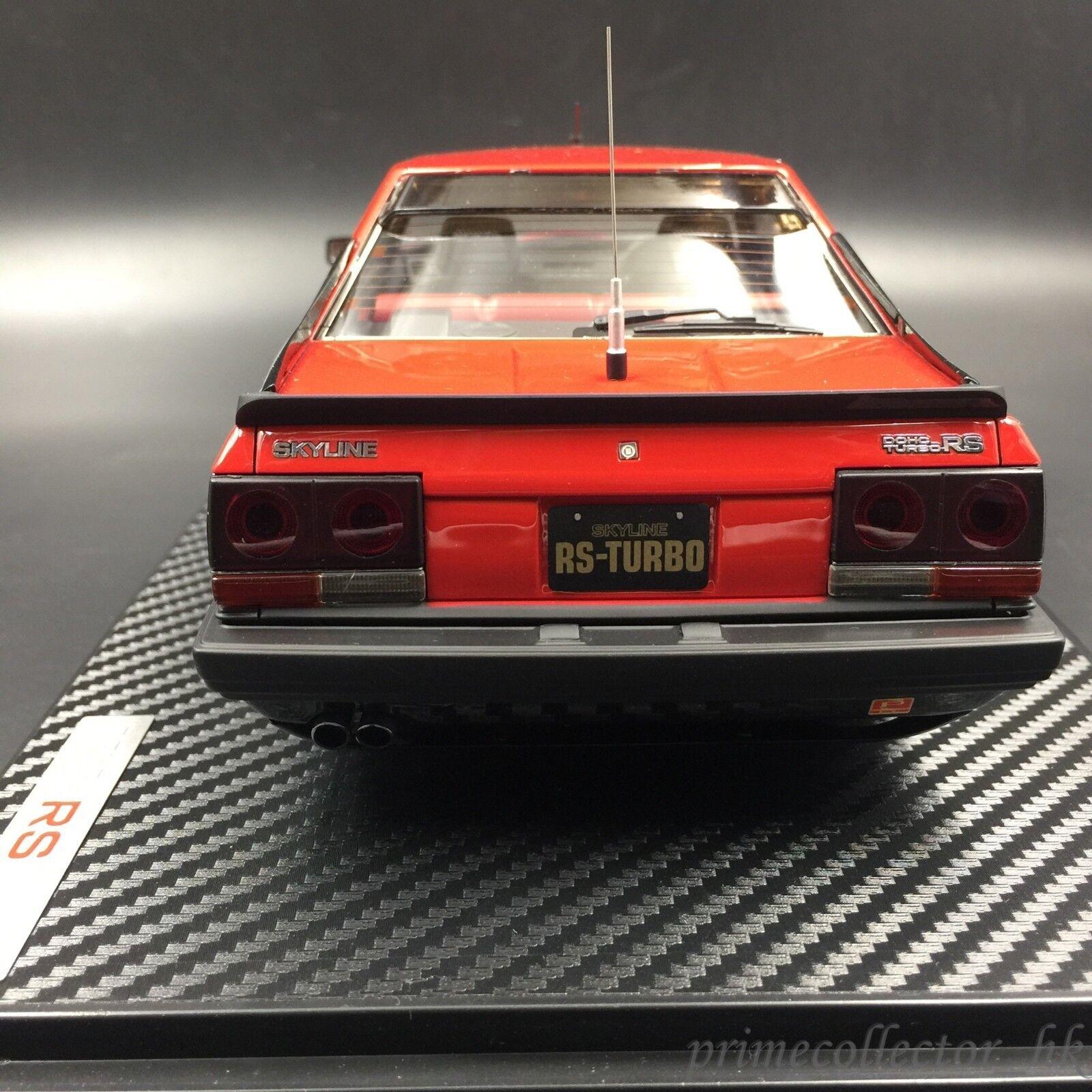 Ignition Models Models Models 1 18 Nissan Skyline 2000 RS Turbo (R30) Red EN Wheel IG0984 8fcd02