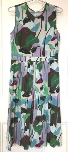 Gorman Dress 100% Silk Size 10 Exquisite Floral Pr