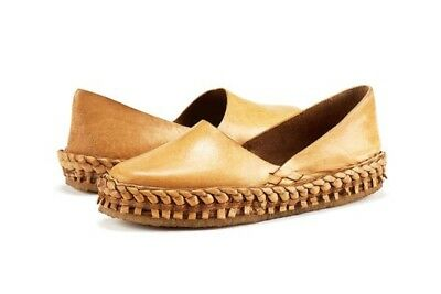 100% Handmade Natural Leather Women Shoe (eco-friendly Vegetable Tanned Leather)