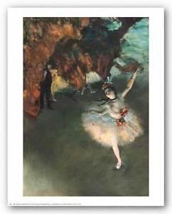EDGAR DEGAS DANCER TILTING OLD MASTER ART PAINTING PRINT POSTER 693OMA