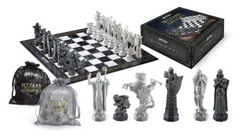 Harry Potter Échiquier 32 Figurine Échecs Magiciens Noble Collection Set Neuf