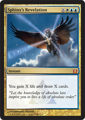 Sphinx's Revelation x4 PL Magic the Gathering 4x Return to Ravnica mtg card lot